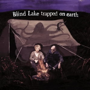 Blind Lake trapped on earh artwork